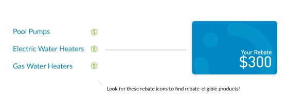 Find Eligible Rebates