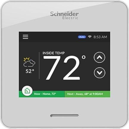 Schneider Electric Thermostat Wiserair10whtus
