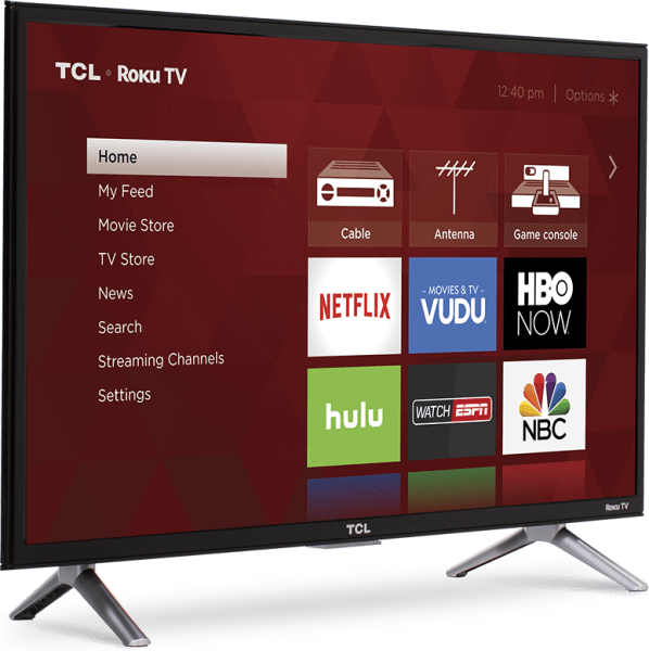 TCL 28 in LED Television - Enervee Score 71/100 - 28S305