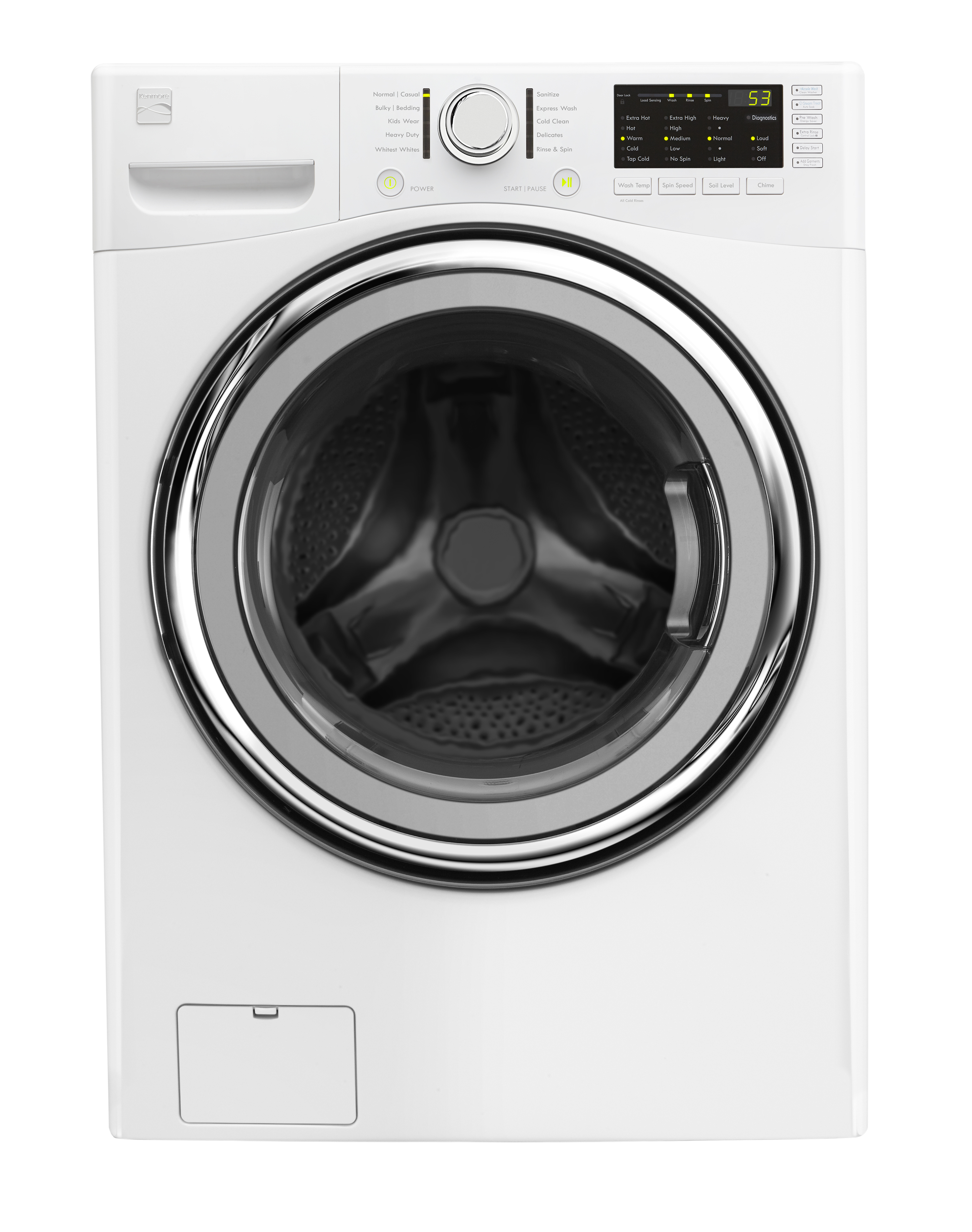 Kenmore 500 washer kenmore elite ii i took these crappy for Kenmore washer