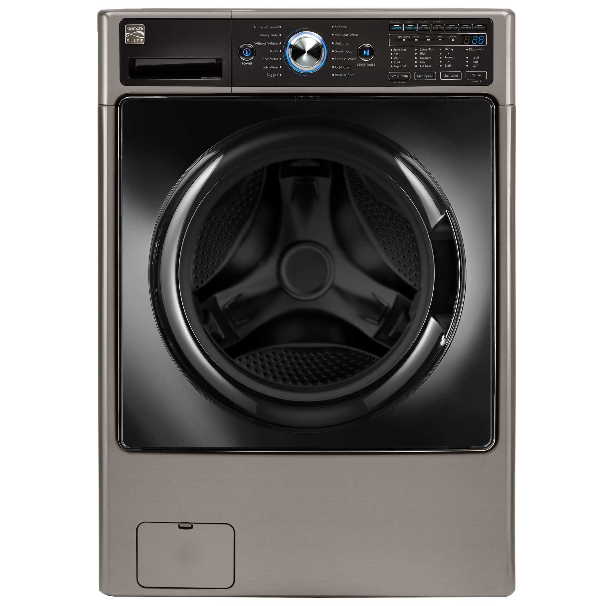 Kenmore Elite 4 5 cu ft Front Load Washer Energy Score 93 100
